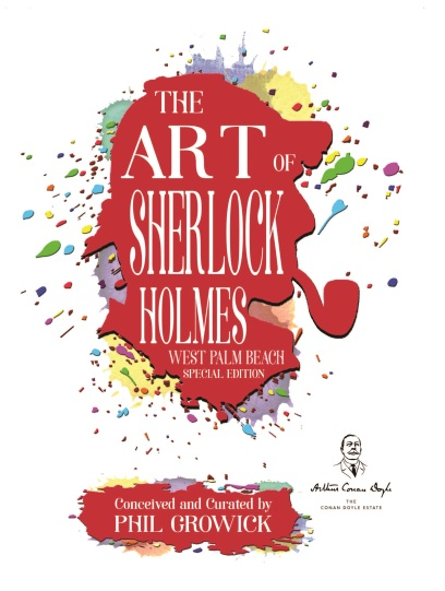 The Art of Sherlock Holmes - book cover